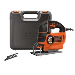 Black and Decker - 620 W AUTOSELECT heiluripistosaha ja teri laukussa - KS901SEK