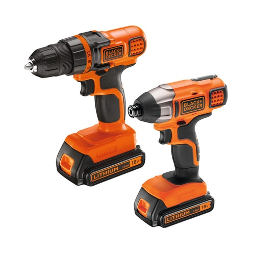 Black and Decker - 18 V akkuporakone  iskuvnnin - BDCDDIM18B