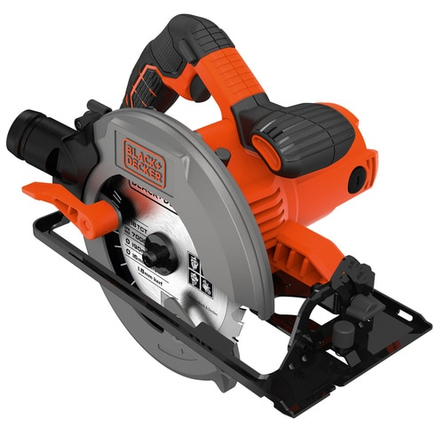 Black and Decker - 1500 W pyrsaha 66 mm laukussa - CS1550K