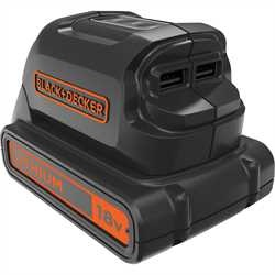 Black and Decker - 18 V akkusovitin USBlataukseen - BDCU15AN
