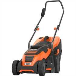 Black and Decker - 1400 W ruohonleikkuri 34 cm CompactGo - EMAX34I