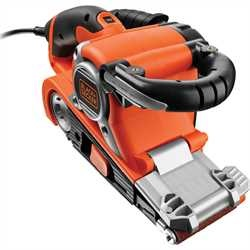 Black and Decker - 720 W nauhahiomakone 75 mm x 533 mm - KA89EK