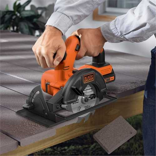 Black and Decker - 18 V pyrsaha 140 mm - BDCCS18
