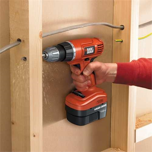 Black and Decker - 12 V akkuporakone - EPC12CA